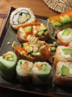 Sushi plate by Santian69