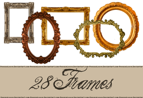 PNG pack frames by PeeaceLoove