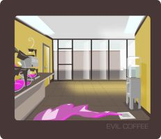 evil coffee by llothcat