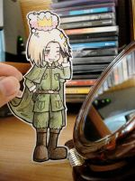 Poland -  paper Child by Annuhka