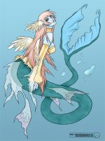 Mermaid colored by Loam
