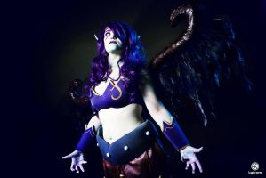 Morgana, Fallen Angel - League of Legends by RicciOnly