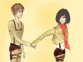 Eren, we need to talk... by McFearless1810