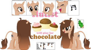 .Cocoa Melody. :Official Character Ref: by FernKitty2