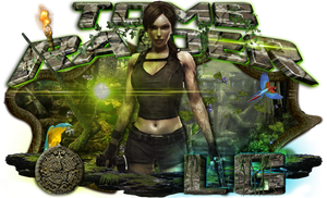 Tomb Raider sign by LG-Design