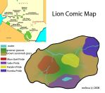 Lion Comic Map by CreatureCreatingBabe