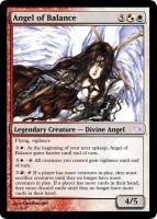 Angel of Balance Magic card by deathangel20