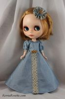 Blythe in Powder Blue 2 by KerriaRosette