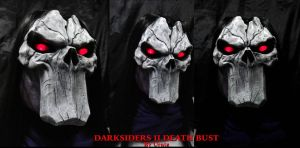Death Bust Darksiders II Glow eyes Details by Uratz-Studios