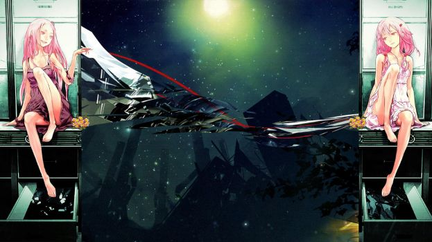 Guilty Crown Background for PS3 by LisaKM