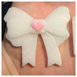 Kawaii Resin Bow by MeeganUrufu