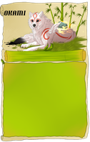Okami journal skin *Free use by Wolfvids