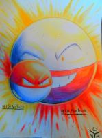 Voltorb and Electrode by BrokenHAX