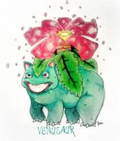Venusaur by JamminJulie