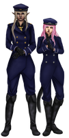 Commander and Subordinate by NejiKitty