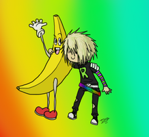 Bananafriend. by issabissabel