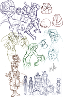Sketchdump 12-1-09 by tysonhesse