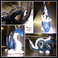 Dragon Sculpture by Thalionrin
