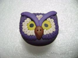 Owl ring by monpetitcoin