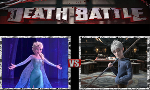 Elsa the Snow Queen vs. Jack Frost, Winter Spirit by ScarecrowsMainFan