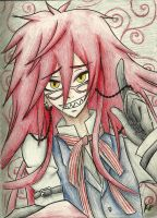 The Red Butler- Grell Sutcliff by K8extreme