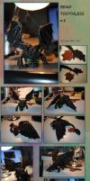 Bead Toothless v.1 - almost done by RedCyclon