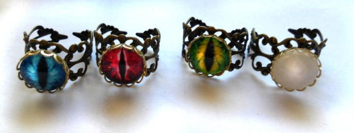 Steampunk Rings I by MorbidFool