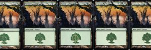 Extended Phyrexian Forests by diemwing