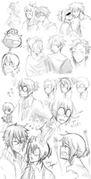 MM - Sketches 3 by chaisuke