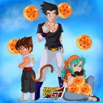 A Different Protagonist - Vegeta/Goten/Bra (DBGT) by saiyanbura