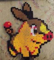Tepig Perler Beads by chkimbrough