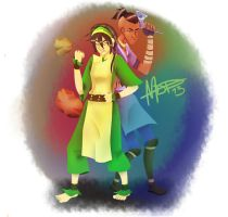 Toph And Sokka by AlvrexADPot
