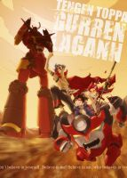 Gurren Lagann by ZWYER