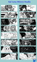 Kid Icarus Miiverse Doodles by HaroPetCreatorLT