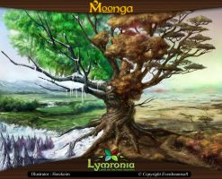 Moonga - Tree of the Four Seasons by moonga