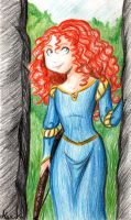 Brave - Princess Merida by mistressmariko