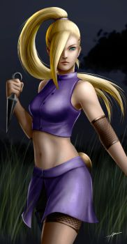 Ino digital painting by Abremson