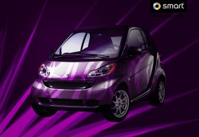 Purple Power - smart car by minikozy92