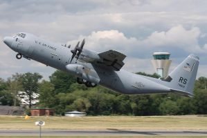USAF C130 Hercules Farnborough by Alexgeorge14