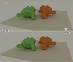 Blender Cycles Comparison by Mitsuma