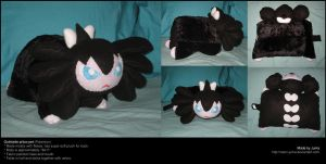 Gothitelle pillow pet by Neon-Juma