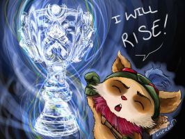 teemo on the world championship by liieren