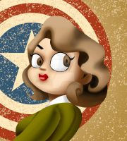 Peggy Carter by clarenceyao