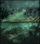 Pirate Ship Graveyard... by Miggs69