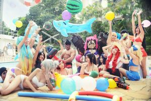 League of Legends - Pool Party by vaxzone