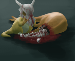 The Orphan Pokemon by jaboody