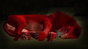 Sweet Dreams RedLion *My Fursona is DONE!!* by KnucklesTheEchidna53