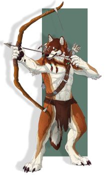 MilesWolf -collab commission- by RogueLiger