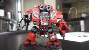 Blood Angels Furioso Dreadnought by Sergios117
