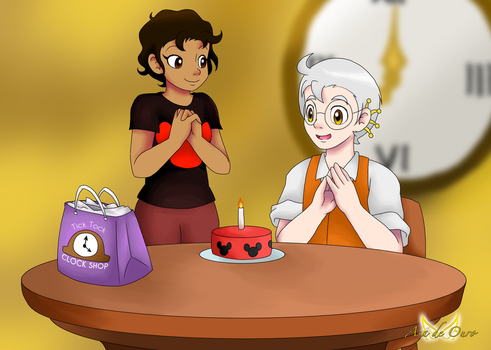 Eugene's Birthday by LudiculousPegasus